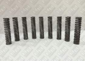 Комплект пружинок (9шт.) для гусеничный экскаватор JCB JS235 (LSP0109)